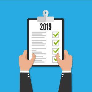 2019 Checklist Clipboard