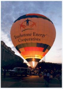 Touchstone hot air balloon